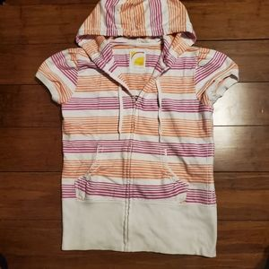 Old Navy Girls Short Sleeve Hoodie
